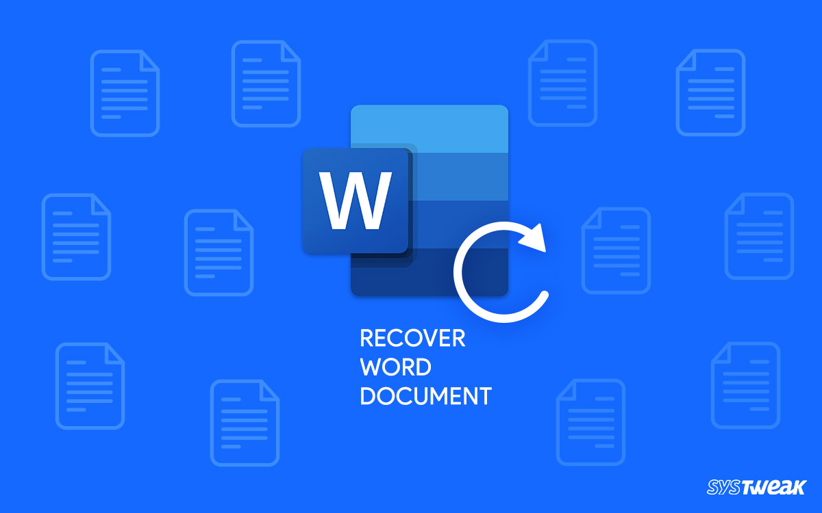 How-to-Recover-Unsaved-word-Document-on-windows-10