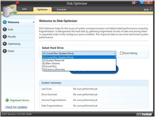disk optimizer