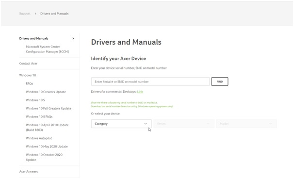 drivers and manuals