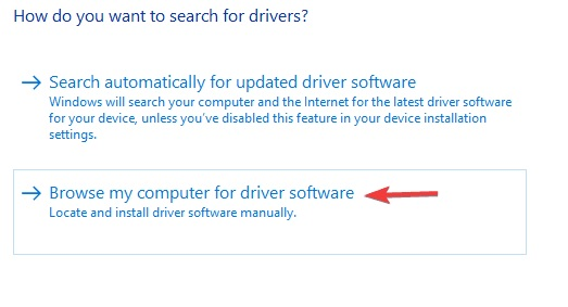 how do you want to search driver