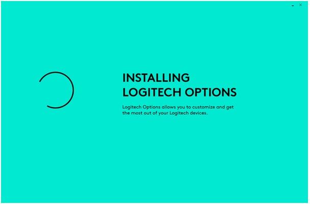 installing logitech opions